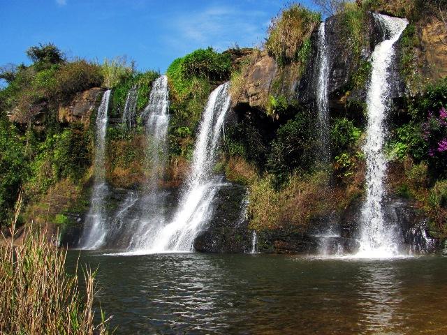 Cachoeira da Fumaça.