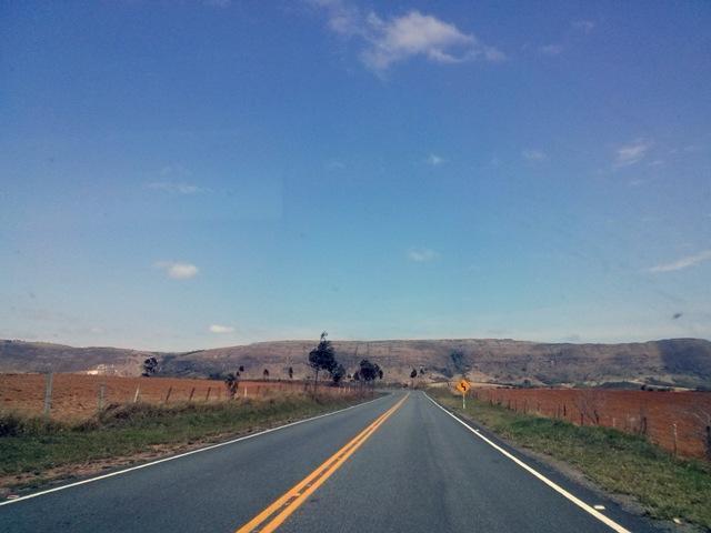 Estrada para Carrancas