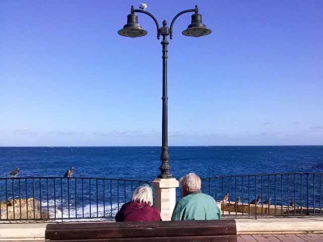 Old love in Sliema