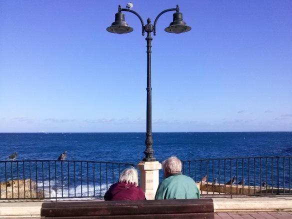 Old love in Sliema